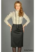 Модель юбки большого размера | 214-65-bella