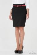 Красивая чёрная юбка Emka Fashion 354-kapriz