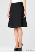 Чёрная юбка-колокол Emka Fashion 502-ofeliya