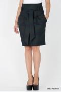 Юбка в мелкую клетку Emka Fashion 421-lera