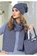 Стильная женская шапочка Kamea Klara
