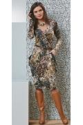 Изящное платье TopDesign B4 065