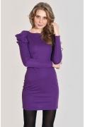 Фиолетовое платье Donna Saggia DSP-11-8t