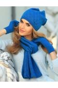 Комплект шапка с шарфом Kamea Klara
