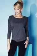 Блузка серого цвета Zaps Anja