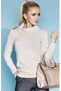 Женский свитер бежевого цвета Zaps Leslie