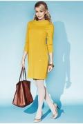 Платье горчичного цвета Zaps Shirley