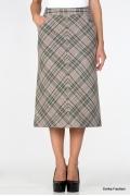 Шерстяная юбка Emka Fashion 499-verbena