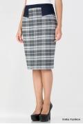Тёплая юбка на осенне-зимний сезон Emka Fashion 408-damena