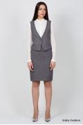 Офисный жилет Emka Fashion GL-002/fantina
