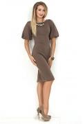 Платье с объемным рукавом Donna Saggia DSP-169-39t