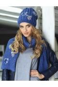 Тёплый женский комплект (шапка и шарф) Kamea Wanda