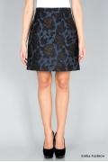 Юбка с цветочным принтом Emka Fashion 518-berta