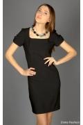 Черное платье-футляр | 224