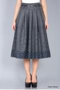 Юбка с добавлением шерсти Emka Fashion 306-karima