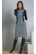 Офисное платье TopDesign B4 064