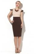 Двухцветное платье Donna Saggia DSP-142-70t