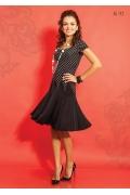 Трикотажное платье TopDesign A5 112