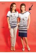 Весенне-летнее платье TopDesign A5 114