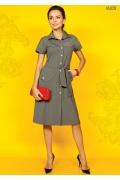Платье-рубашка TopDesign A5 020
