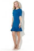 Синее коктейльное платье Donna Saggia DSP-31-90t