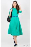 Платье бирюзового цвета Emka Fashion PL-407/tori