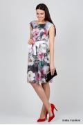 Летнее шифоновое платье Emka Fashion PL-417/gimaliya