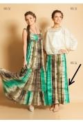 Длинная трикотажная юбка TopDesign PA5 54
