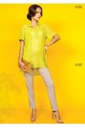 Блузка рубашечного кроя TopDesign A5 006