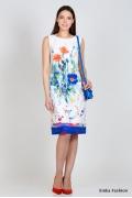 Летнее платье без рукавов Emka Fashion PL-423/sorn