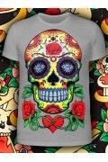 Мужская футболка Sugar Skull (Светится в темноте и уф.)