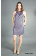 Платье футляр без рукавов | 149-cantmere4