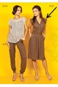 Платье рубашечного кроя TopDesign A5 012