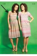 Летнее платье TopDesign A5 037