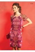 Трикотажное платье TopDesign A5 067