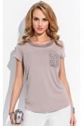 Блузка с карманом Sunwear R73-3