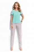 Блузка мятного цвета Sunwear R72-3
