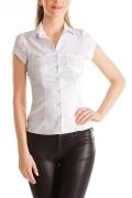 Женская блузка классического кроя / Б622-1108
