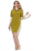 Платье оливкового цвета Donna Saggia DSP-83-9