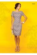 Платье-футляр TopDesign Premium PA5 02