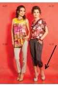 Женские брюки TopDesign premium A5 122
