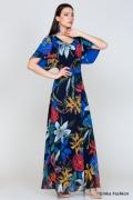 Длинное платье Emka Fashion PL-421/danisa