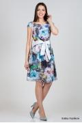 Летнее платье Emka Fashion PL-417/goldi