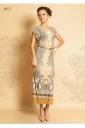 Длинное летнее платье TopDesign Premium PA5 72