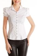 Изящная блузка с коротким рукавом | Б742-724