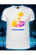 Мужская футболка Dance Session (Светится в ультрафиолете)