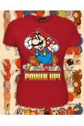 Женская футболка Марио (Светится в темноте и ультраф.)