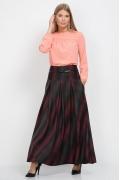 Длинная юбка в клетку Emka Fashion 427-miloslava