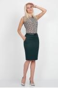 Офисная юбка Emka Fashion 556-gvenet