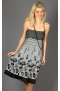 Сарафан-юбка серого цвета | 230/2
